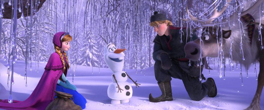 """Animacinis filmas """"Ledo šalis"""""""