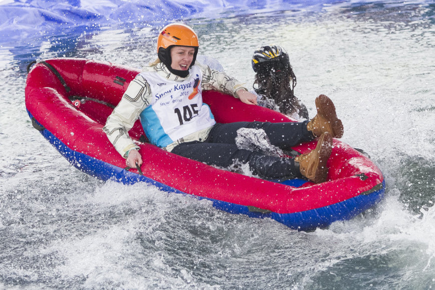 """Snow Kayak 2015"" akimirka"