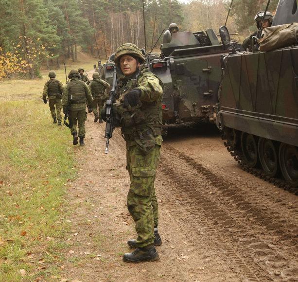 Lietuvos kariai pratybose Lenkijoje