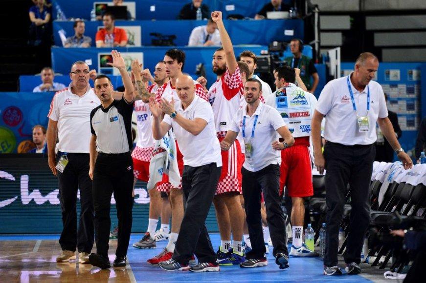 Kroatijos krepšinio rinktinė