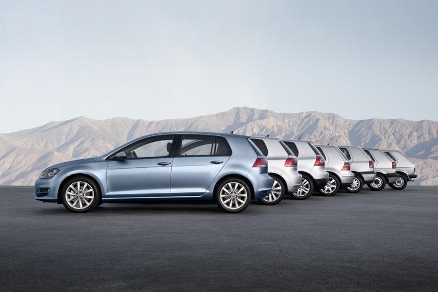 """""""Volkswagen Golf"""" kartos"""