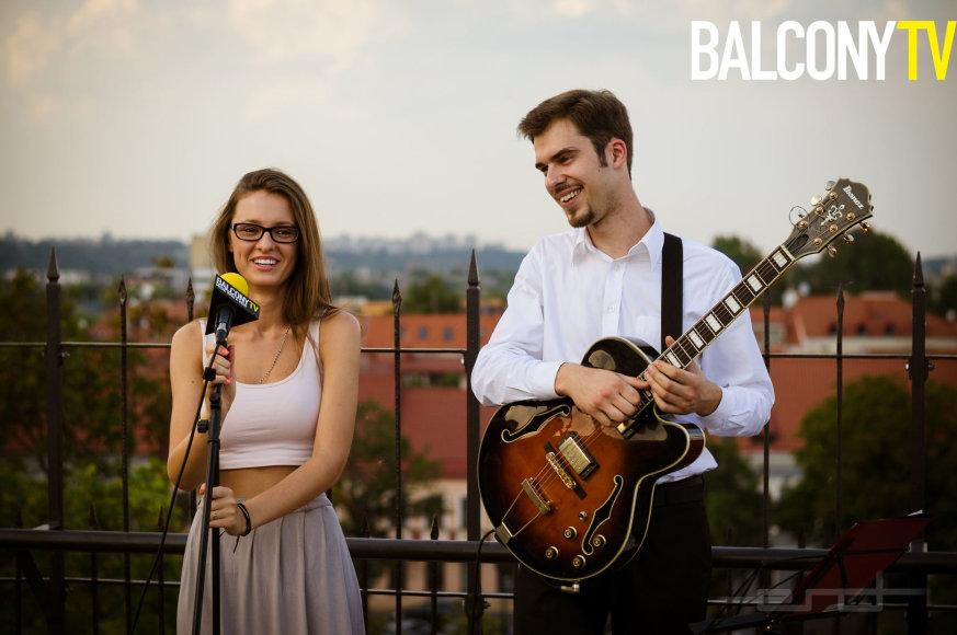 Ieva Zasimauskaitė ir Tadas Grajauskas