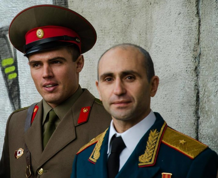 Darius Petrikauskas (kairėje)
