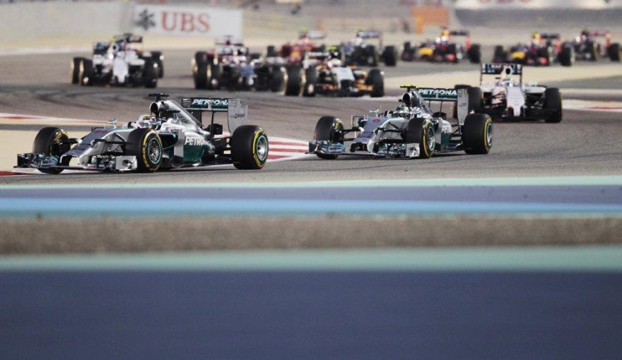 F-1 lenktynės Bahreine