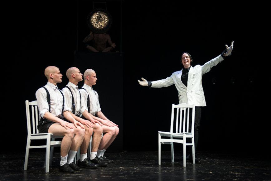 Spektaklis Vilniaus mažajame teatre
