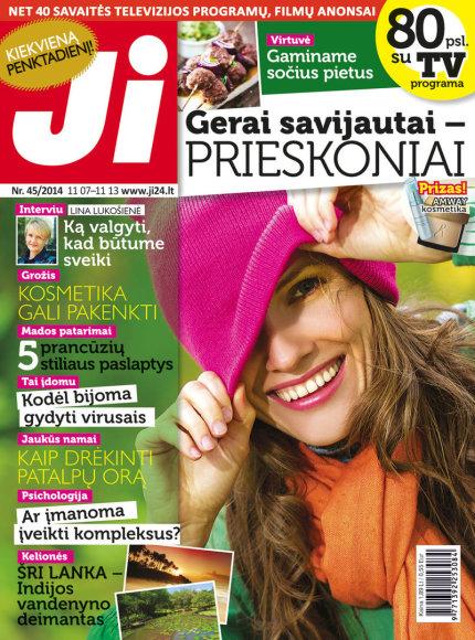 """2014 m. lapkričio mėnesio žurnalo """"Ji"""" Nr. 45"""