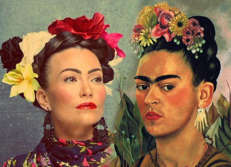 Karina Krysko-Skambinė ir Fridos Kahlo autoportretas