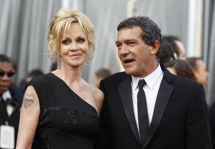 Melanie Griffith ir Antonio Banderasas
