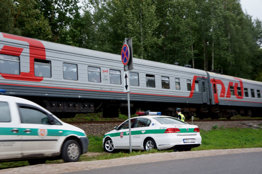 Sugedęs traukinys