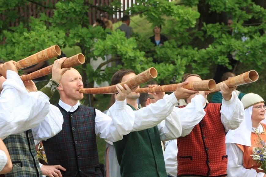 Dainų šventės Folkloro diena