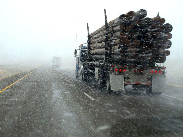 Žiemiškos eismo sąlygos
