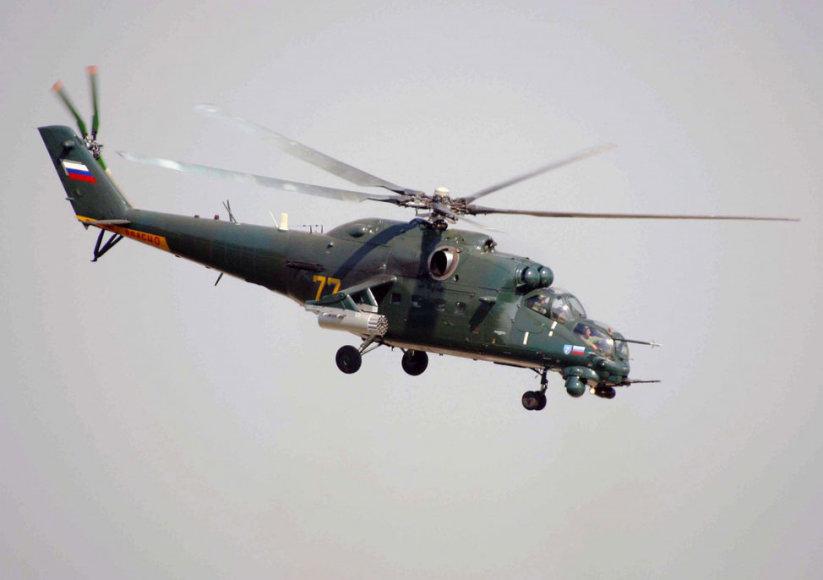 Rusijos sraigtasparnis Mi-35