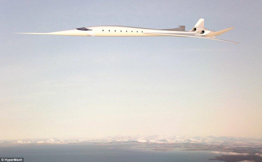 Viršgarsinis lėktuvas Hypermach SonicStar turėtų pradėti skraidyti 2021 m.