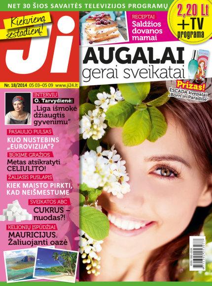 """18 žurnalo """"Ji"""" numeris"""
