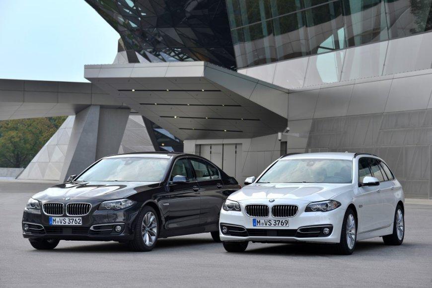 BMW 518d ir BMW 520d