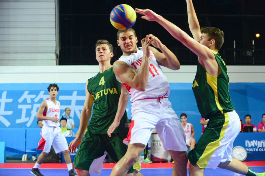Lietuvos jaunieji krepšininkai – jaunimo olimpiados ketvirtfinalyje