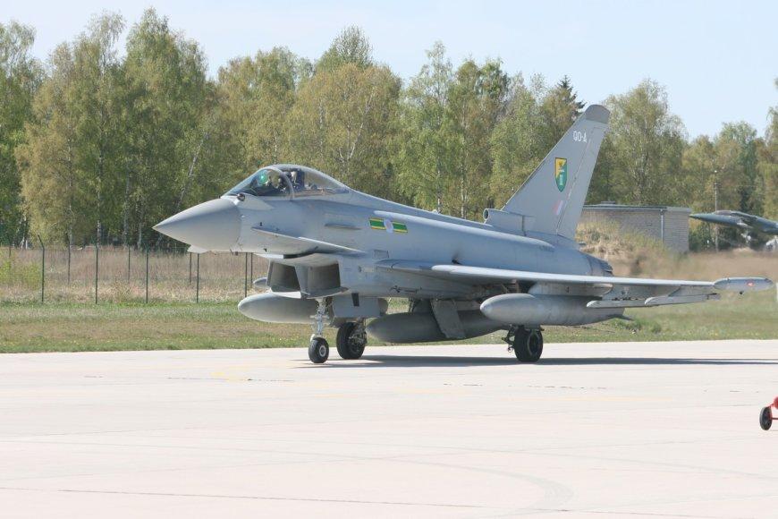 NATO misiją perima anglai