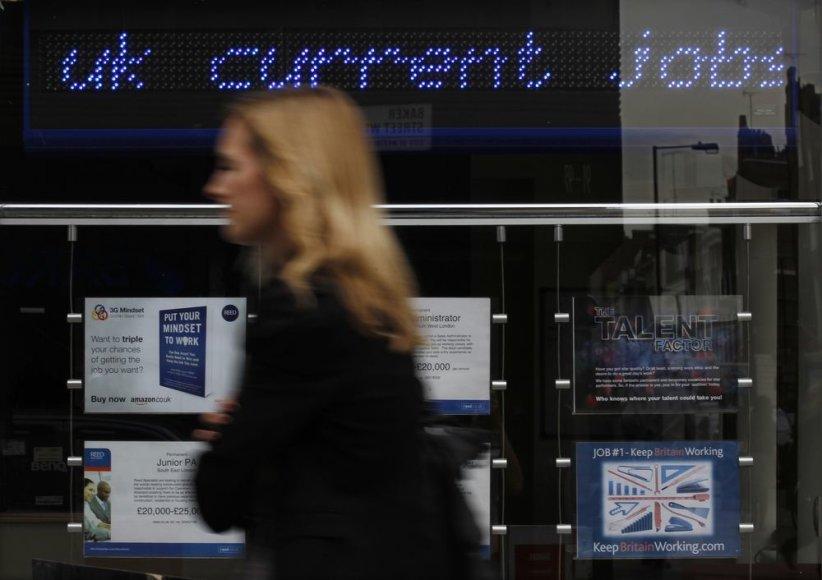 Darbo rinka Didžiojoje Britanijoje
