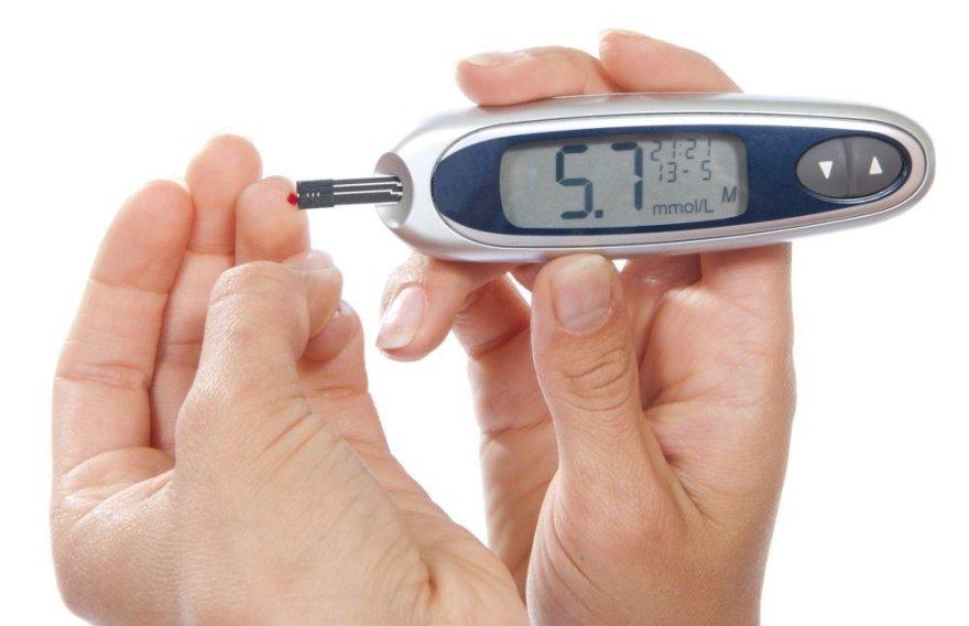 Gliukozės kiekio kraujyje matuoklis