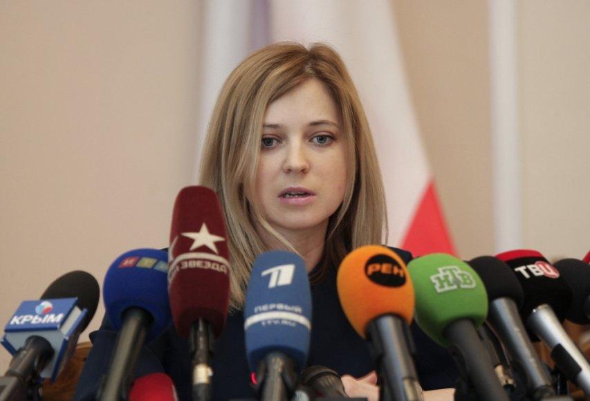 Krymo prokurorė Natalija Poklonskaja