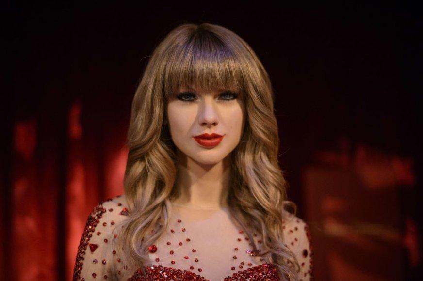 Taylor Swift vaškinė figūra