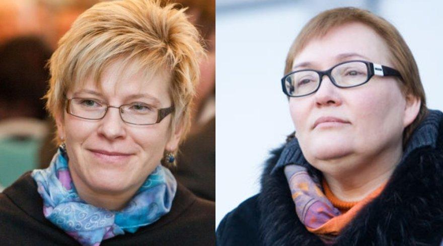 Ingrida Šimonytė ir Aušra Maldeikienė