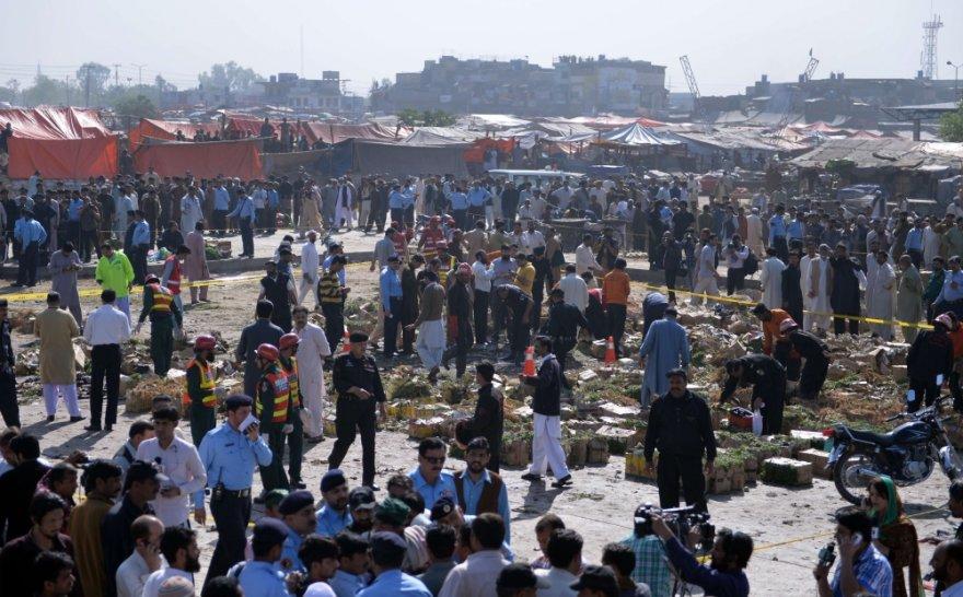 Ravalpindyje šalia Islamabado sprogus bombai vaisių ir daržovių turguje žuvo 23 žmonės