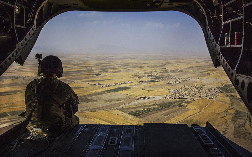 Iš Afganistano  Zabulo provincijos išvyko užduotį sėkmingai atlikę Lietuvos specialiųjų operacijų pajėgų kariai