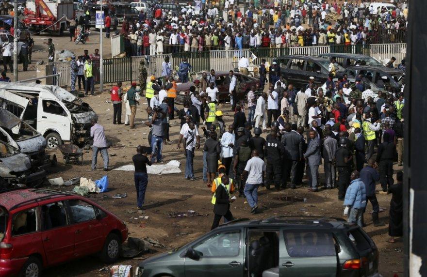 Nigerijos sostinės Abudžos pakraštyje sprogo bomba