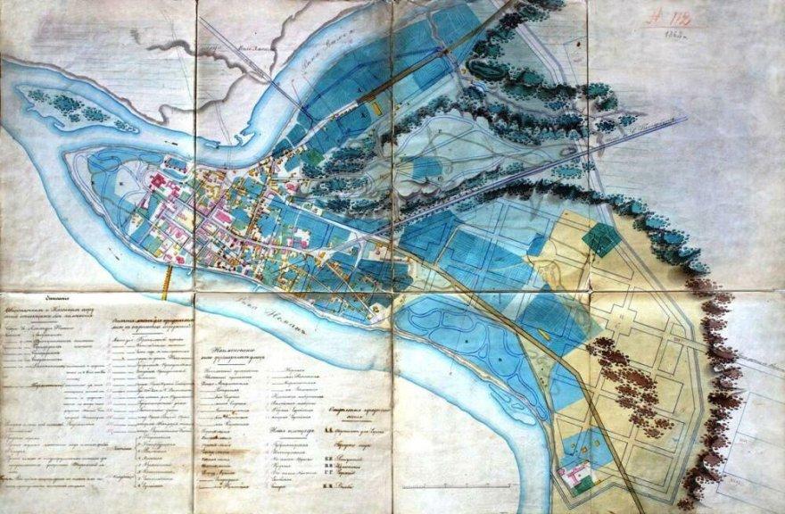 Kauno miesto planas (iki 1847 m.) Tai 1847 metų plano vienas iš variantų. Planas apėmė senąją miesto dalį, Totorių priemiestį ir beveik tuščią plotą tarp Nemuno šlaitų iki Girstupio žiočių. Naujai suplanuotas Kauno centras išsiskiria geometriniu gatvių tinklu.