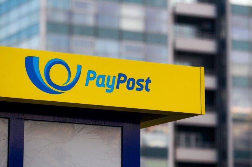 """Lietuvos pašto bankelis """"Paypost"""""""
