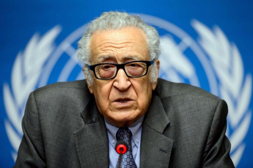 Jungtinių Tautų ir Arabų Lygos pasiuntinys Sirijoje Lakhdaras Brahimi