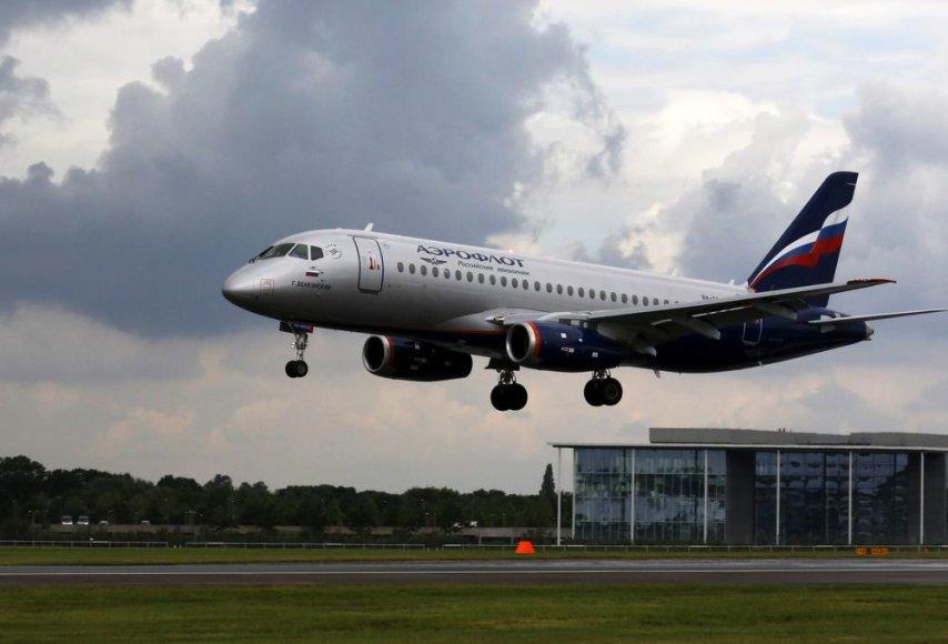 "Kompanijos ""Aeroflot"" lėktuvas."