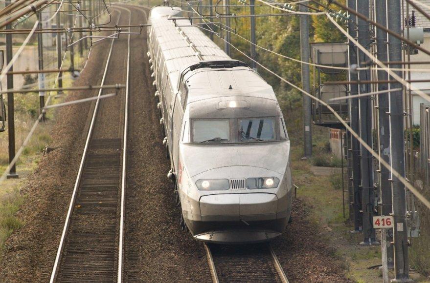 Traukinys Prancūzijoje