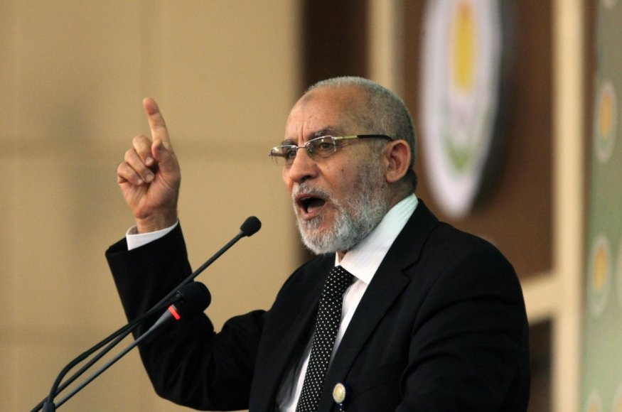 Musulmonų brolijos lyderis Mohamedas Badie