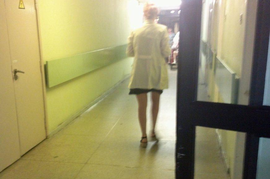 Ligoninėje