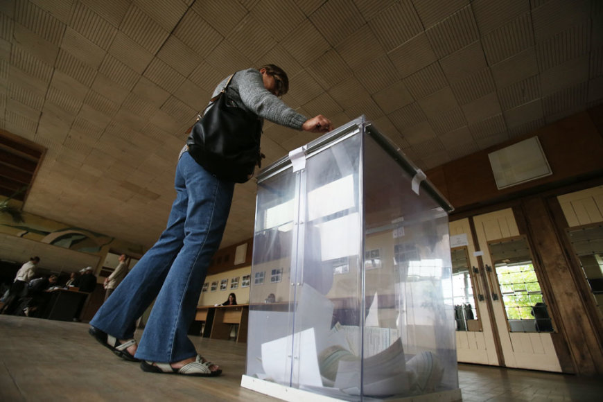 Balsavimas Kaune