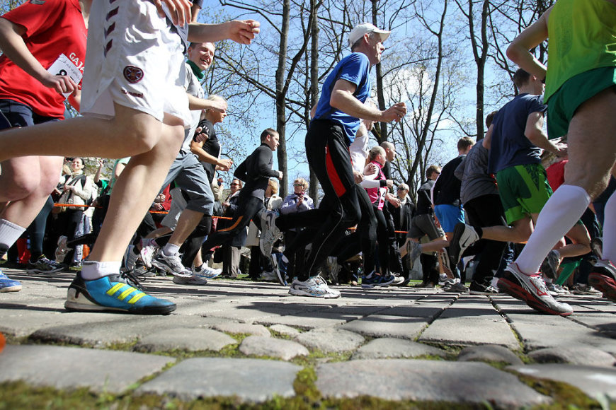 Bėgikai varžybose