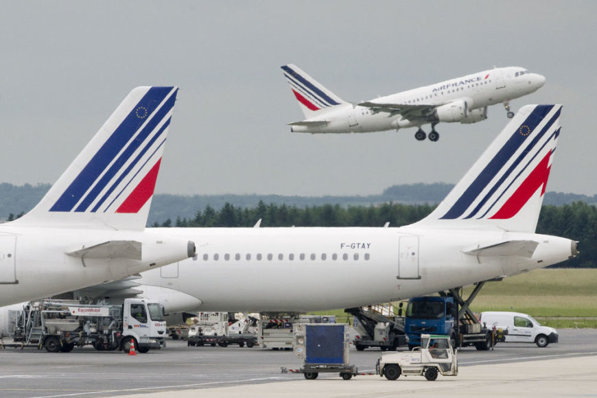 """Air France-KLM"" lėktuvai"