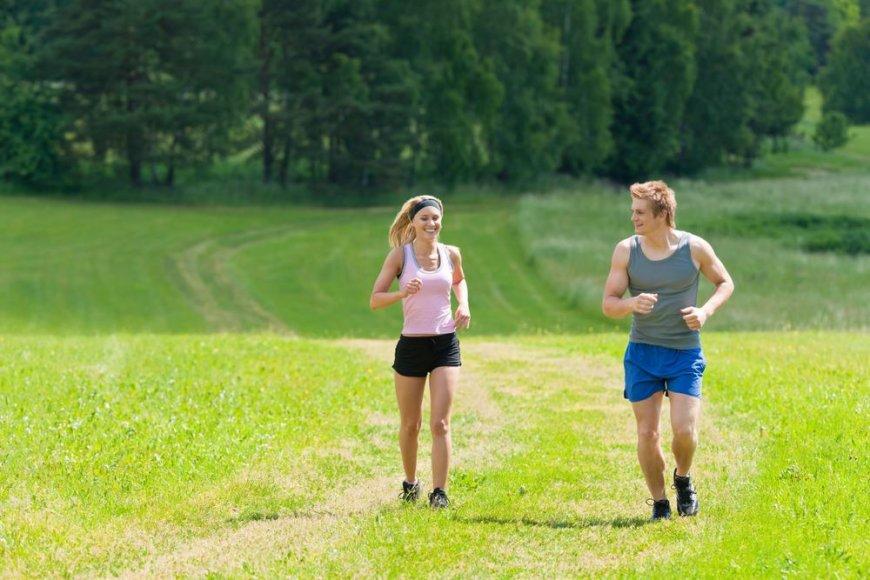 Pora bėgioja