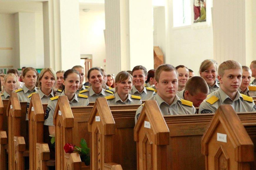 Lietuvos policijos mokyklos kursantai