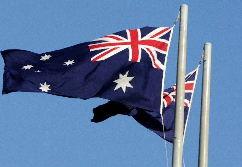 Australijos vėliavos