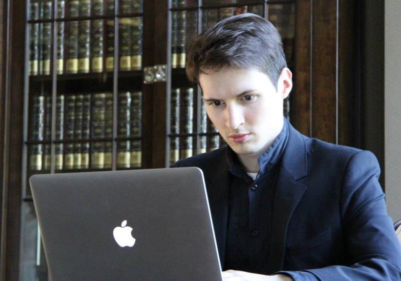 """""""VKontakte"""" įkūrėjas ir generalinis direktorius Pavelas Durovas"""