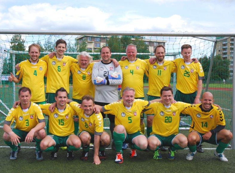 X-asis tarptautinis žurnalistų futbolo turnyras Druskininkuose