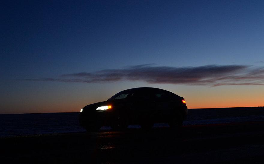 BMW X6 ekspedicija į Laplandiją