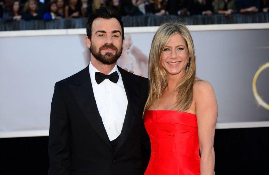 Justinas Theroux ir Jennifer Aniston