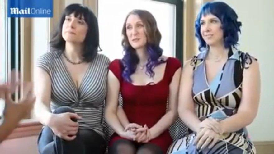 Lesbietės Doll, Kitten ir Brynn