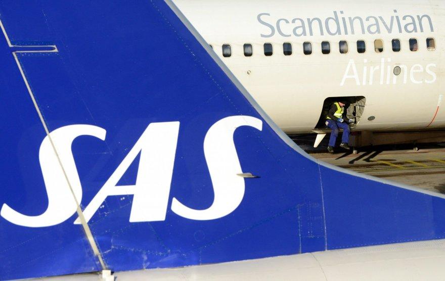 """SAS lėktuvas """"Boeing 737"""""""