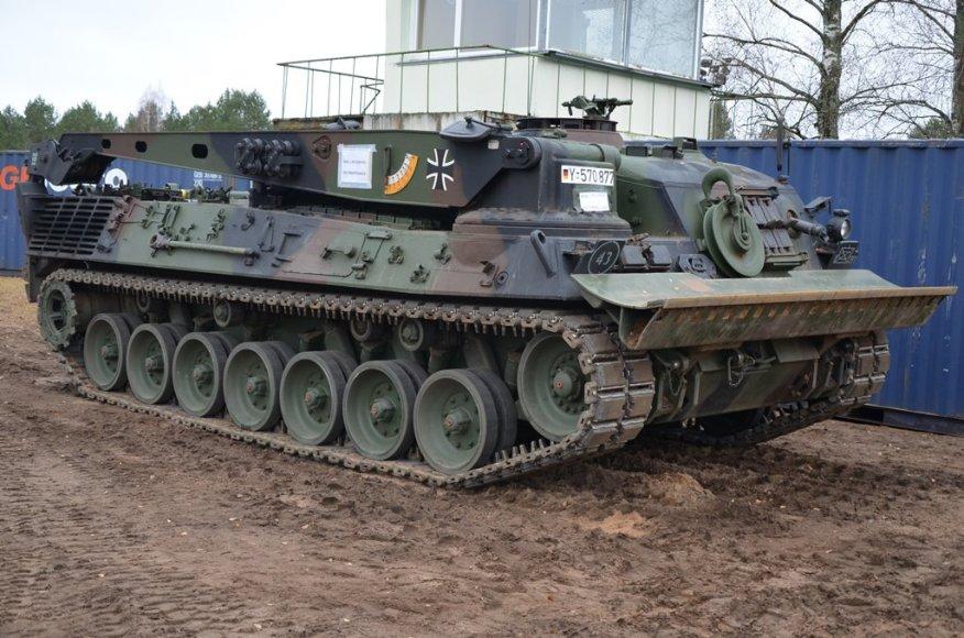 Vokietijos kariuomenės kovos mašinos