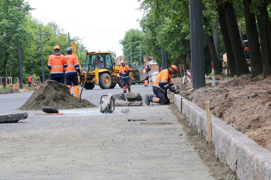 K.Petrausko gatvės rekonstrukcija